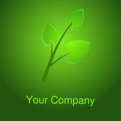 Logo Ökologie grün