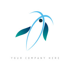 logo picto web marketing pub commerce design icône