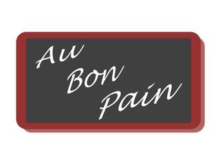 PANNEAU AU BON PAIN
