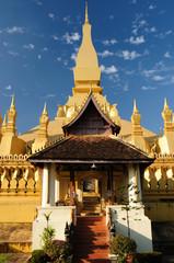 Lao, Vientiane - Pha That Luang