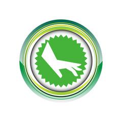 main geste humain doigts logo picto web icône design symbole