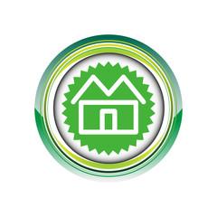 maison immobilier habitat logo picto web icône design symbole