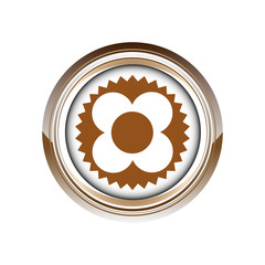 fleur printemps végétation logo picto web icône design symbole