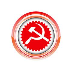 fauscille marteau communisme logo picto web icône symbole