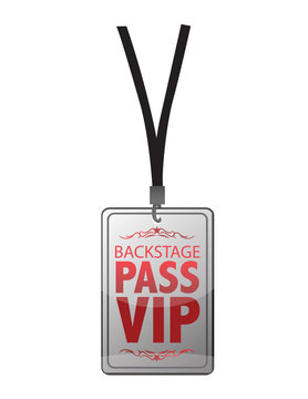 Backstage pass vip