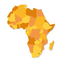 Afrique et pays d'Afrique