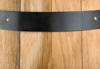 Background of a wooden barrel