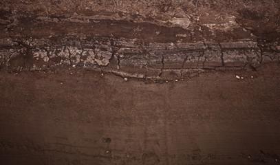 Underground soil layers
