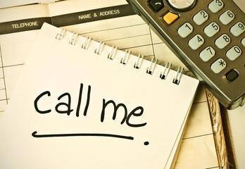 call me