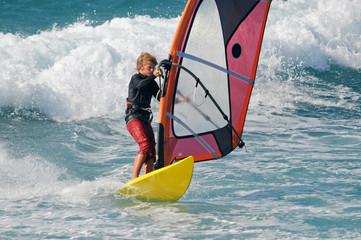 Windsurf-Teen
