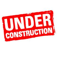 Under Construcion Stamp