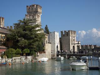 In Sirmione,Region Lombardei,Provinz Brescia,Italien