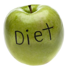 Diet Concept Apple