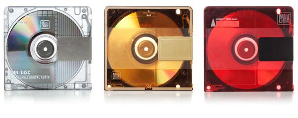 Audio mini discs for music #2. Set | Isolated