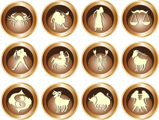 12 teiliges Horoskopset