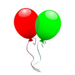 Luftballons - Vektor