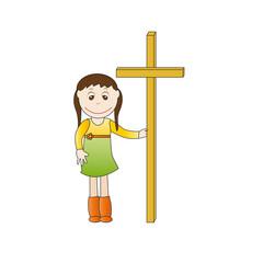 Kids cross