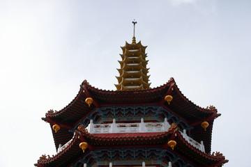 Buddhism temple to Borneo