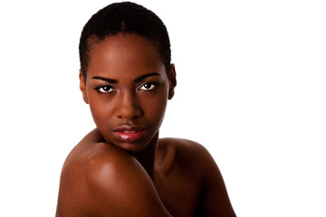 African beauty face