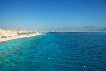 Panorama of Eilat beach