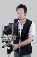 Fotógrafo joven