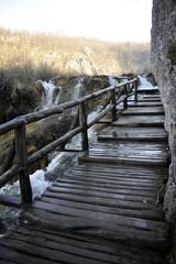 Croatie Plitvicka Jezera chemin de cascades