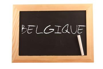 Belgique sur ardoise