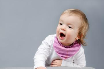Begeisterungsschrei des Babys