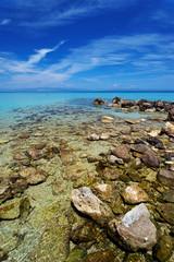 Beach at the Aegean Sea, Greece, Erope