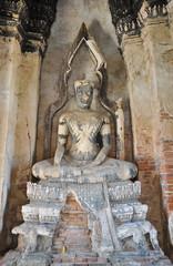 Buddha in Ayutthaya temple