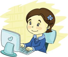 Little blogger