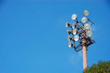 Foto op Plexiglas Stadion 照明灯