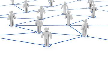 Fototapeta Netzwerk