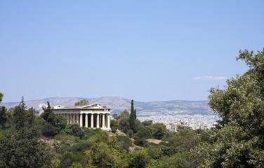 Temple of Hephaestus. Athens, Grece.