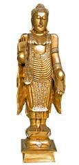 Golden Buddha isolated
