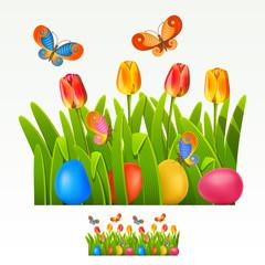 Easter border