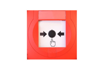 Druckknopfmelder Hilfe holen Alarm
