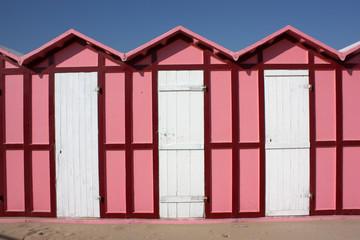 pink cabanas