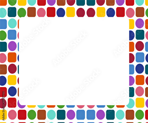 quot colorful frame nicely decorated quot  stock photo and royalty blocks clip art silhouette blocks clip art black and white