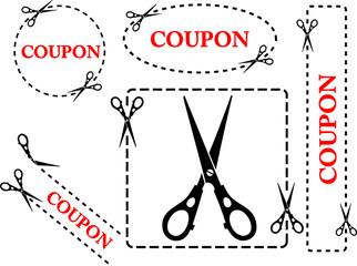 Set of coupons