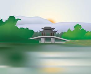 le lac XiHu