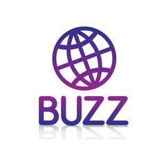 logo picto internet web label buzz bruit rumeur actualité