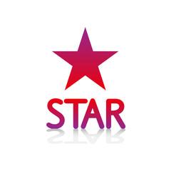 logo picto internet web label star étoile vedette astre ciel