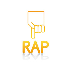 logo picto internet web label rap musique banlieue cité rappeur