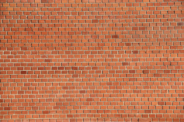 Urban red brick wall texture