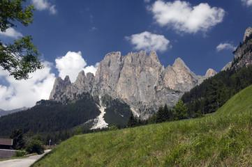 Rosengarten; Gebirgsstock; Dolomiten