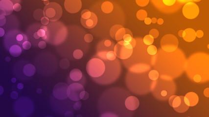 Orange Violet Hintergrund mit Kreisen
