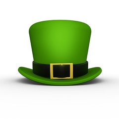 St Patrick's day hat front