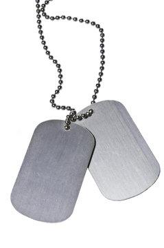 Military ID tags