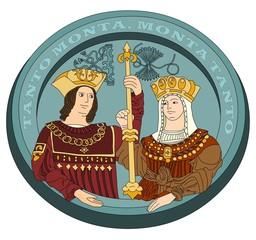 Fototapeta Catholic Monarchs, Isabella I of Castile, Ferdinand II of Aragon obraz